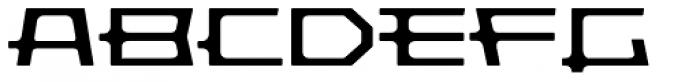 Pandorum Light Font UPPERCASE