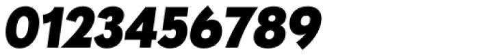 Paneuropa Nova Black Italic Font OTHER CHARS