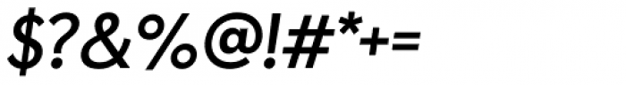 Paneuropa Nova Medium Italic Font OTHER CHARS