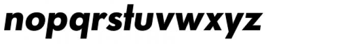 Paneuropa Retro Bold Italic Font LOWERCASE