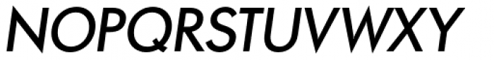 Paneuropa Retro Demi Bold Italic Font UPPERCASE