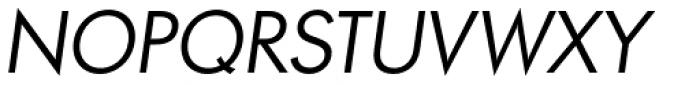 Paneuropa Retro Regular Italic Font UPPERCASE