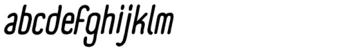 Panforte Condensed Italic Font LOWERCASE