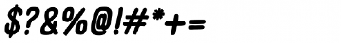 Panforte Serif Bold Italic Font OTHER CHARS