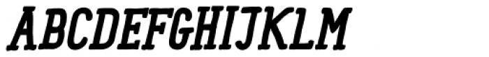 Panforte Serif Bold Italic Font UPPERCASE