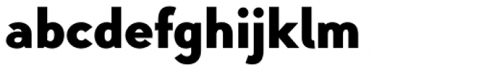 Pani Sans Black Font LOWERCASE
