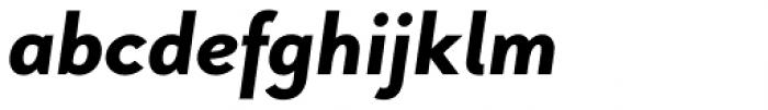 Pani Sans Extra Bold Italic Font LOWERCASE