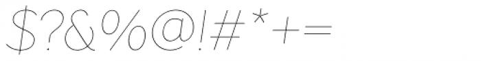 Pani Sans Italic Variable Font OTHER CHARS