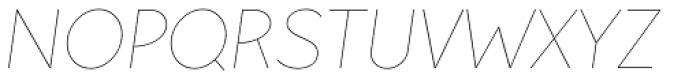 Pani Sans Italic Variable Font UPPERCASE