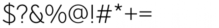 Pani Sans Light Font OTHER CHARS
