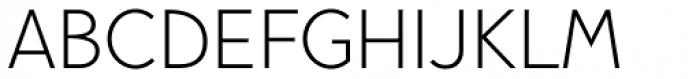 Pani Sans Light Font UPPERCASE