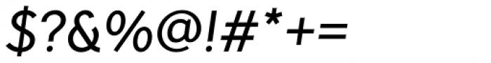 Pani Sans Medium Italic Font OTHER CHARS