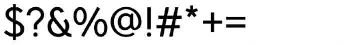 Pani Sans Medium Font OTHER CHARS