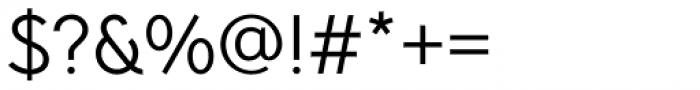 Pani Sans Regular Font OTHER CHARS