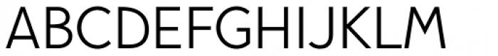Pani Sans Regular Font UPPERCASE