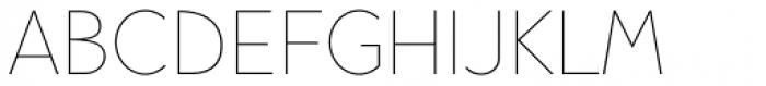 Pani Sans Thin Font UPPERCASE