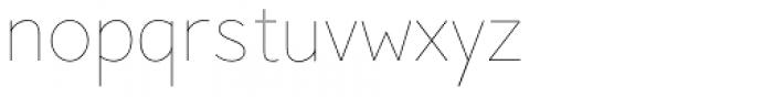 Pani Sans Variable Font LOWERCASE