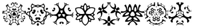 Pansies Font LOWERCASE