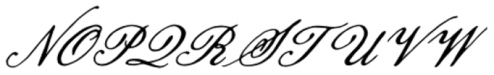 Pansy Bo Font UPPERCASE