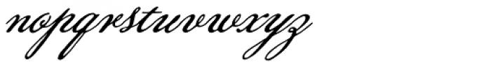 Pansy Bo Font LOWERCASE