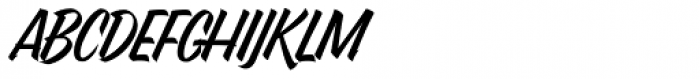 Pantera Caps Font UPPERCASE
