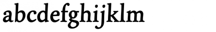 Panther EF Bold Font LOWERCASE