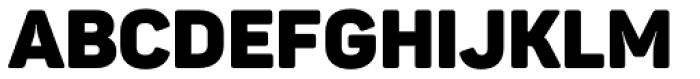 Panton Black Font UPPERCASE
