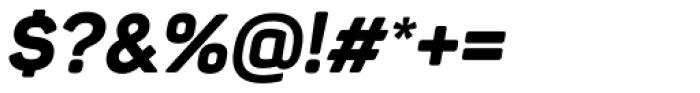 Panton ExtraBold Italic Font OTHER CHARS