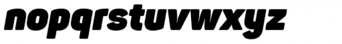 Panton Heavy Italic Font LOWERCASE