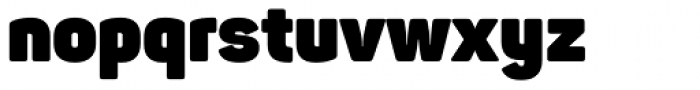 Panton Heavy Font LOWERCASE