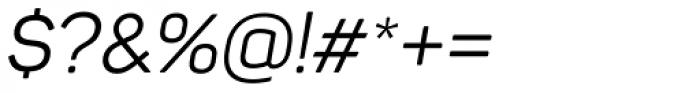 Panton Italic Font OTHER CHARS