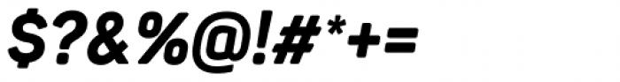 Panton Narrow Extra Bold Italic Font OTHER CHARS