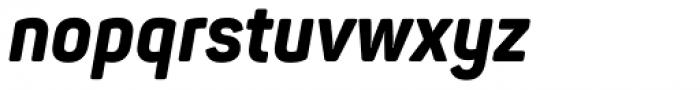Panton Narrow Extra Bold Italic Font LOWERCASE