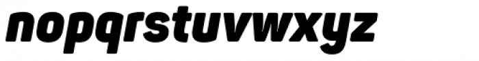 Panton Narrow Heavy Italic Font LOWERCASE