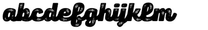 Panton Rust Script Heavy Grunge Font LOWERCASE