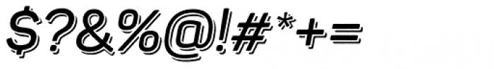 Panton Rust Script Semi Bold Base Shadow Font OTHER CHARS