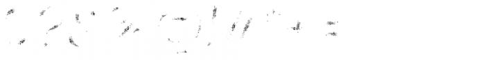 Panton Rust Script Semi Bold Grunge Fill Font OTHER CHARS
