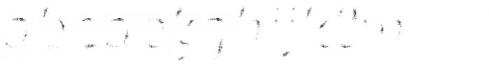 Panton Rust Script Semi Bold Grunge Fill Font LOWERCASE