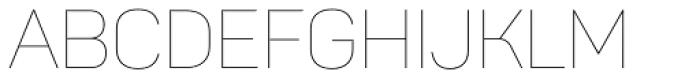 Panton Thin Font UPPERCASE