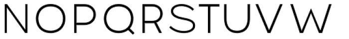 Pantra Light Font UPPERCASE