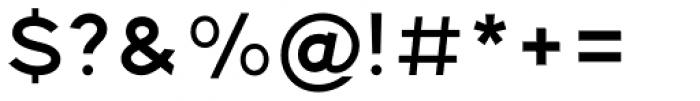 Pantra Medium Font OTHER CHARS