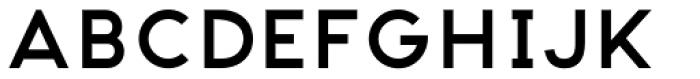 Pantra Medium Font UPPERCASE