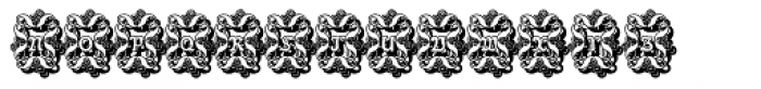 Paola Decorative Shadow Font UPPERCASE