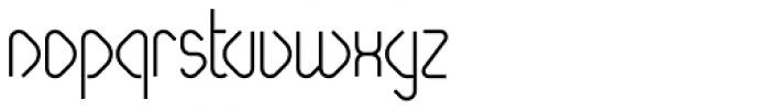 Paperclip Medium Font LOWERCASE
