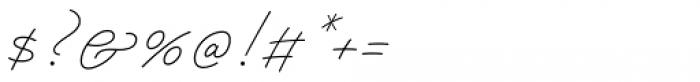 Papillon Script Font OTHER CHARS
