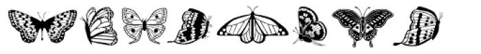 Papillon Font UPPERCASE