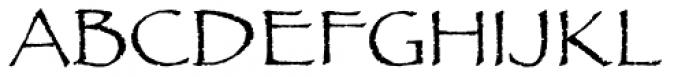 Papyrus Std Regular Font UPPERCASE