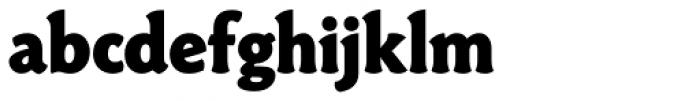 Paradigm ExtraBold Font LOWERCASE