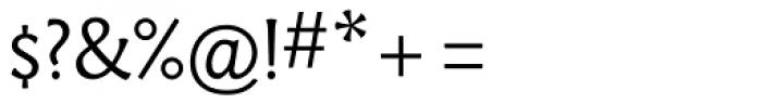 Paradigm Light Font OTHER CHARS