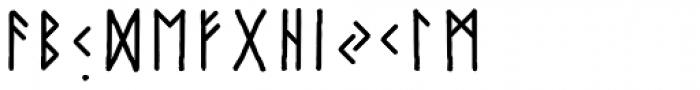 Paradox Runa Font LOWERCASE